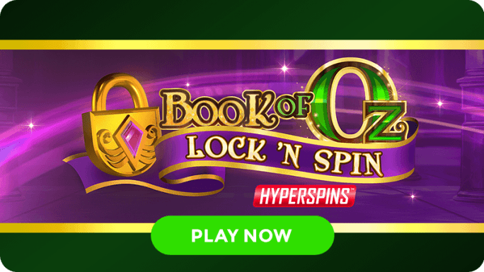 book of oz lock n spin slot signup