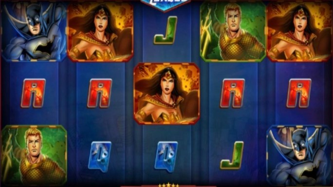 justice league comic slot gameplay