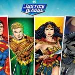 justice league comic slot logo