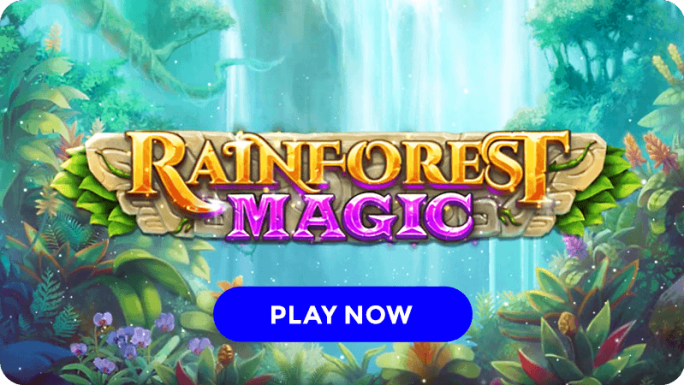 rainforest magic slot signup