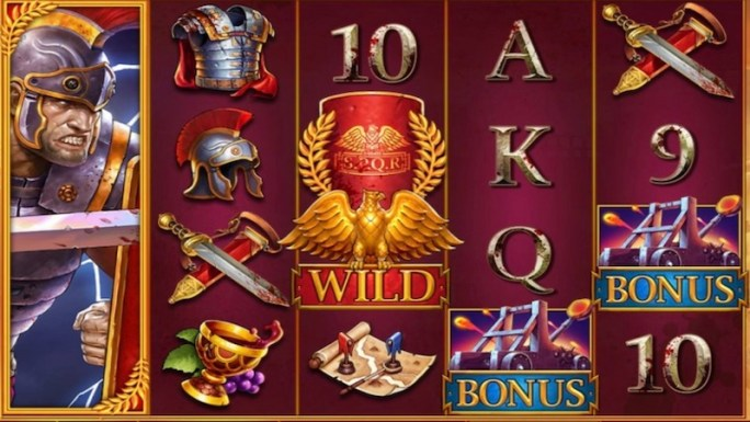 shields of rome slot gameplay