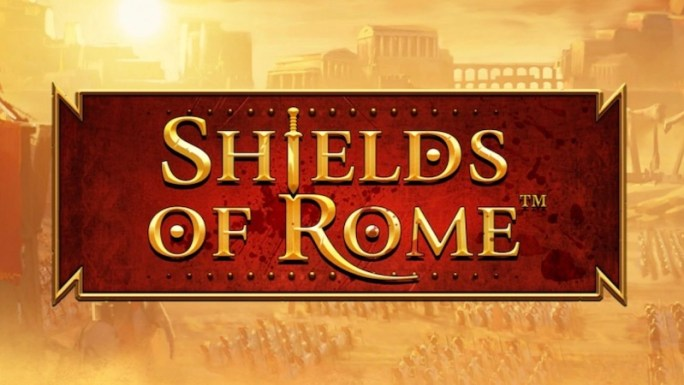 shields of rome slot logo