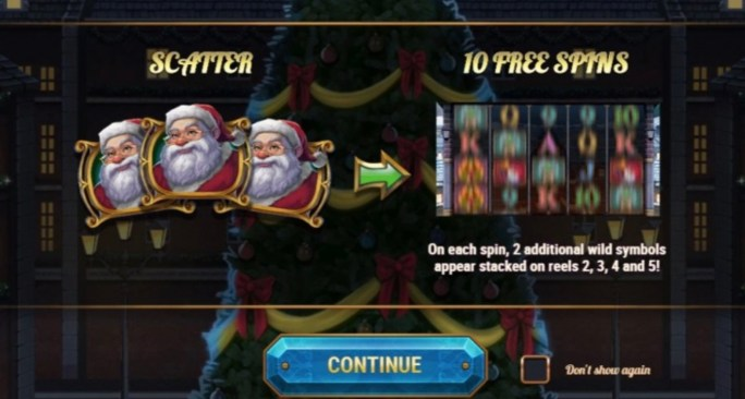 xmas magic slot rules