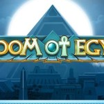 doom of egypt slot logo
