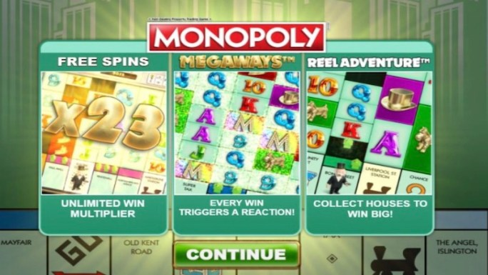 monopoly megaways article rules