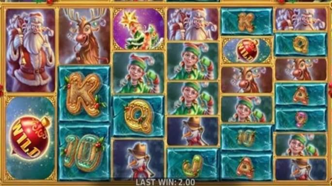 mystical santa megaways slot gameplay