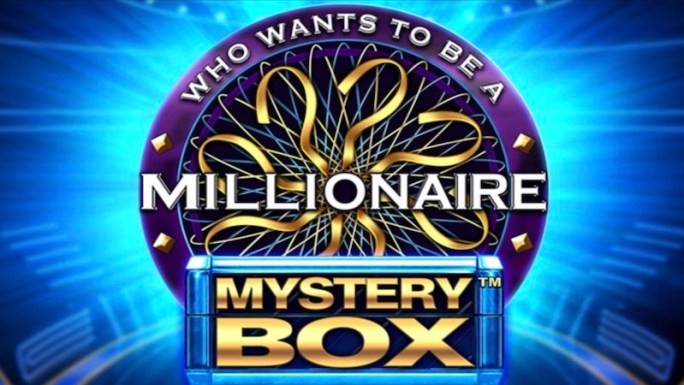 who wants to be a millionaire mystery box slot logo