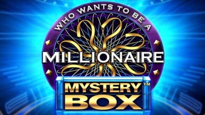 who wants to be a millionaire mystery box slot logo