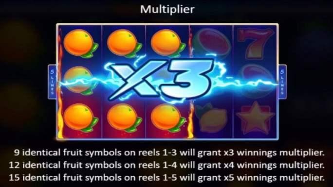 fruit xtreme slot rules