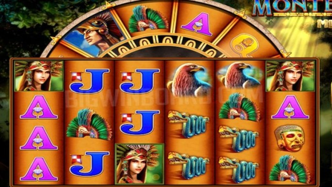 montezuma megaways slot gameplay