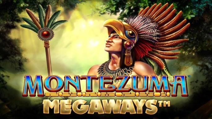 montezume megaways slot logo