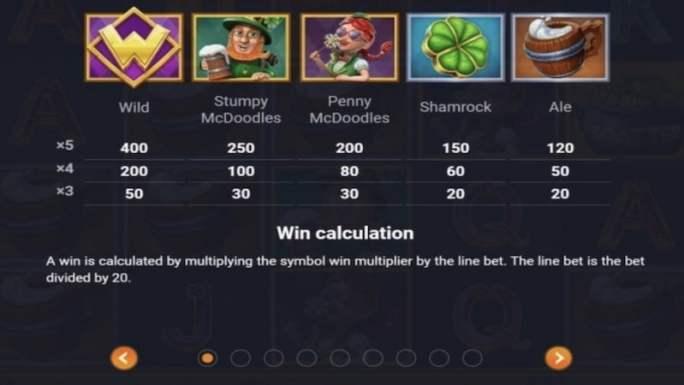 stumpy mcdoodles slot rules