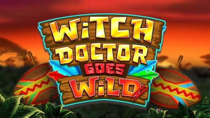witch doctor goes wild slot logo