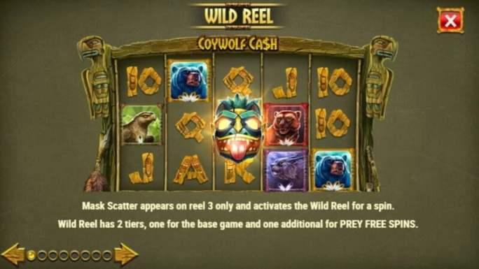 coywolf cash slot rules
