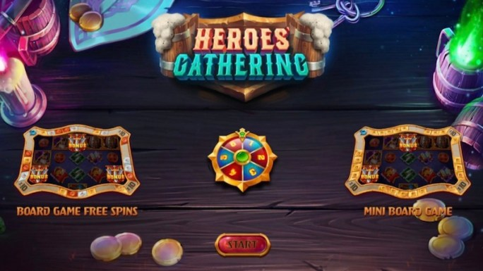 heroes gathering slot rules