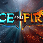 ice and fire slot logo
