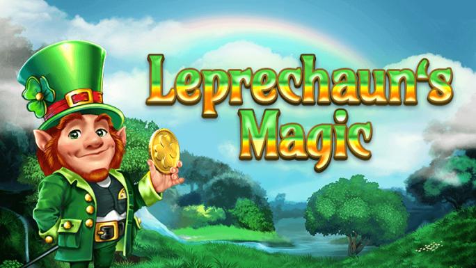 leprechauns magic slot logo