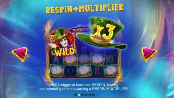 the wild hatter slot rules