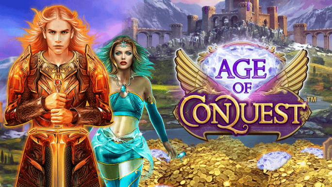 age of conquest slot logo