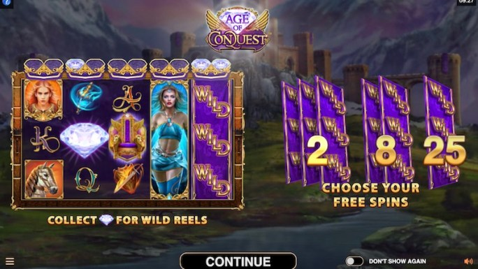 age of conquest slot rules