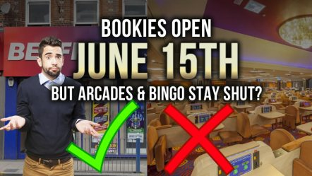 Betting Shops to open tomorrow – but bingo & arcades stay shut