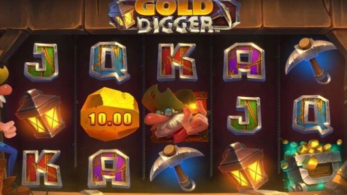 gold digger slot gameplay