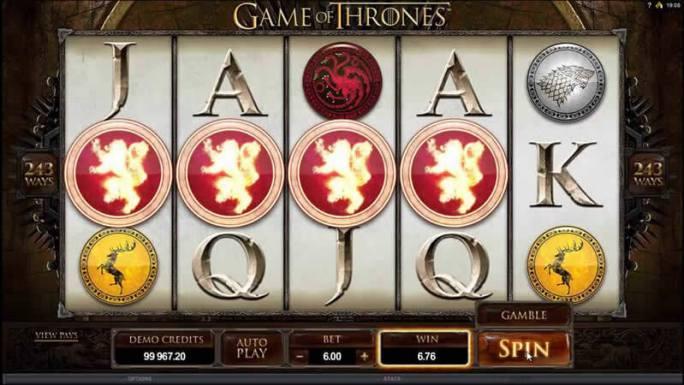 game of thrones 243 ways slot