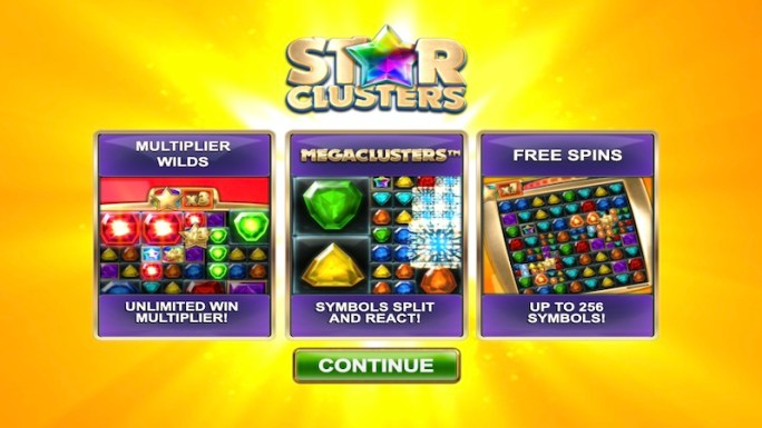 star clusters megacluster slot rules