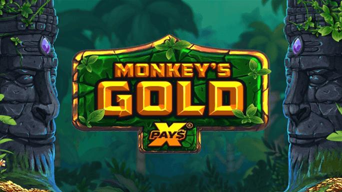 monkeys gold xpays slot logo
