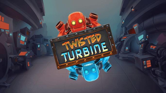 twisted turbine slot logo