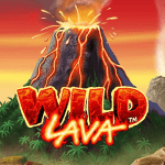 wild lava slot logo