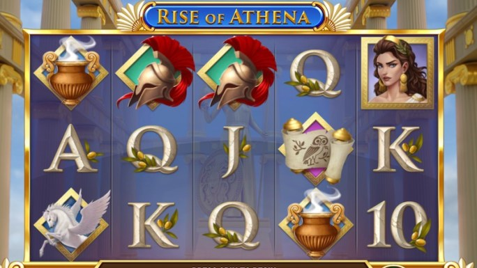 rise of athena slot gameplay