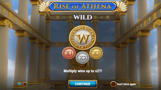 rise of athena slot rules