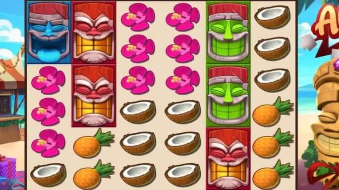 aloha christmas slot gameplay
