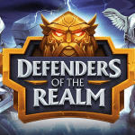 defenders of the realm slot logo