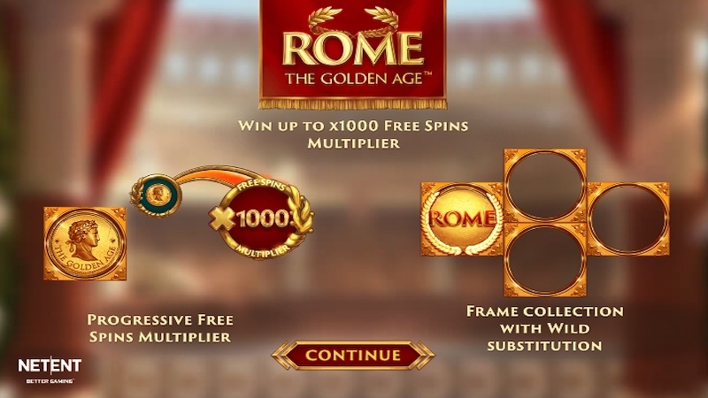 rome the golden age slot rules