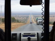 Mombasa Road! Pretty great, except for all the willy-nilly lane-changing by huge lorries, going uphill or not!