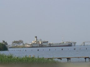 The harbor at Kisumu