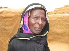 Ahmat's grandmother