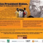 Urgent Action: VP Biden in Africa This Week!
