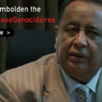 Don't Embolden the #SudaneseGenocidaires