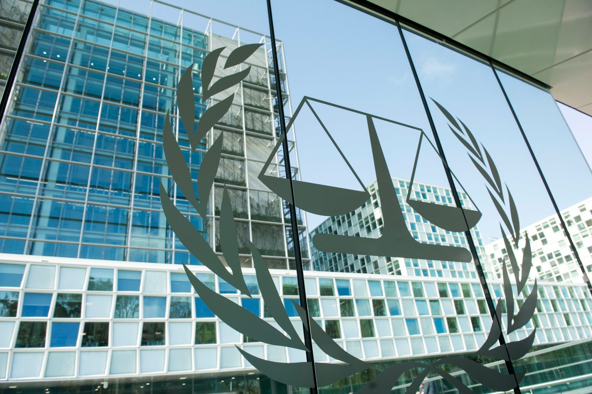 Window of the International Criminal Court