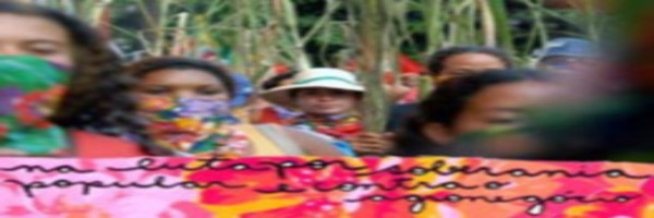 We Denounce and Resist the Green Economy's Impacts on Women and Forests
