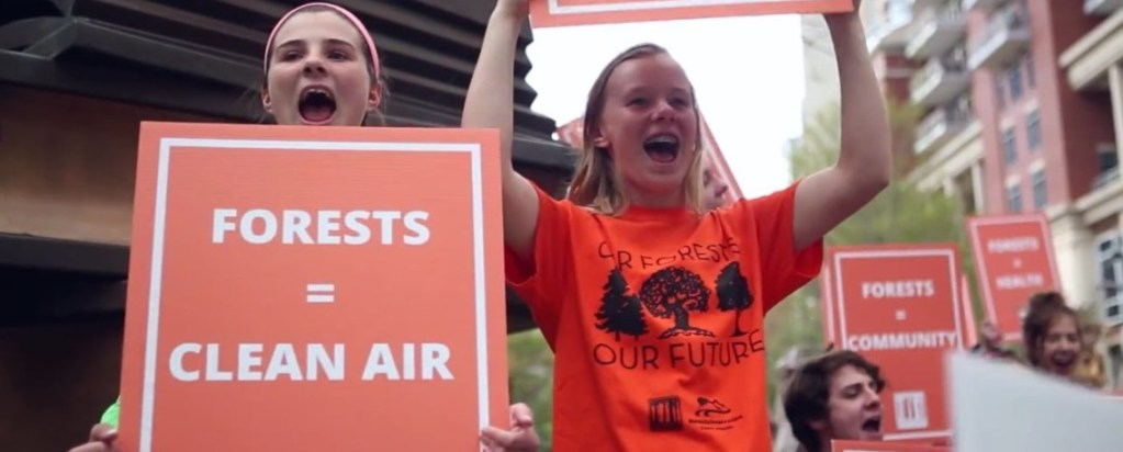 WATCH: #Stand4Forests on Arbor Day! Cutting Down Forests for Fuel is an Environmental Injustice!