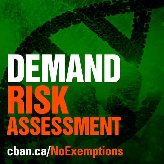Release: Health Canada Proposes to Remove Regulation for Some GMOs