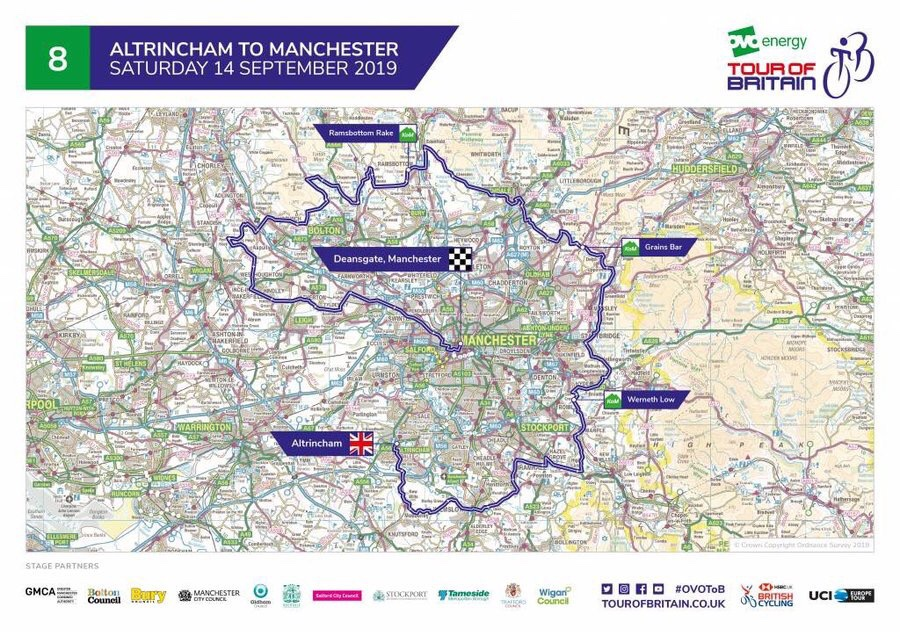 Tour of Britain • Heads to Stockport