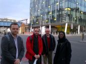 SkC meeting with TfL CEO and Cycling Commissioner - outside TfL building 2