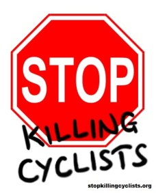 Stop Killing Cyclists - logo with website