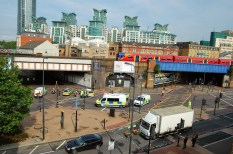 Vauxhall Cross Crash Scene - photo by Paulius Štutas