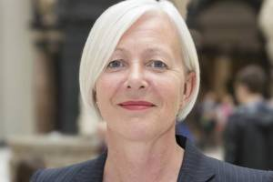 Moira Gemmill, 55, was killed on Thursday 9 April 2015 in the Lambeth Bridge roundabout in Westminster (photo: Evening Standard)